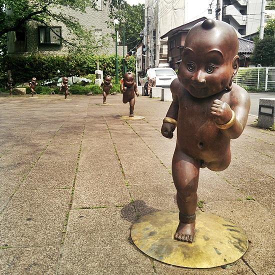 府中 走る童子